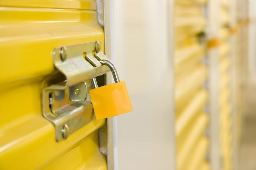 Safe storage for small business archiving
